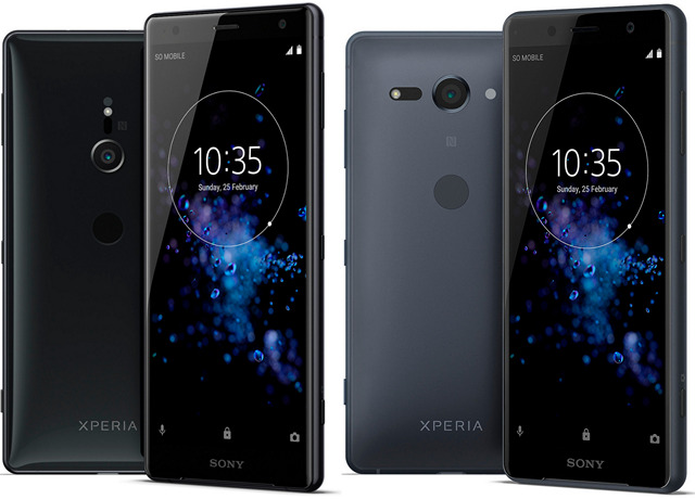 Sony Xperia XZ2 and Xperia XZ2 Compact Specifications
