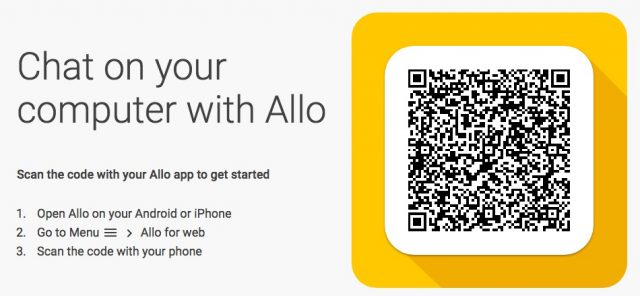 allo web android messages