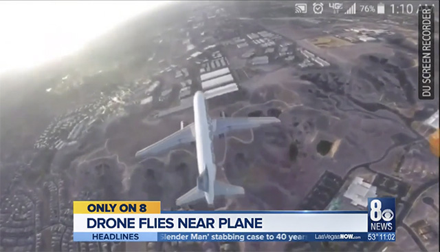 Viral Video of a Drone Nearly Missing a Passenger Flight Draws Criticism