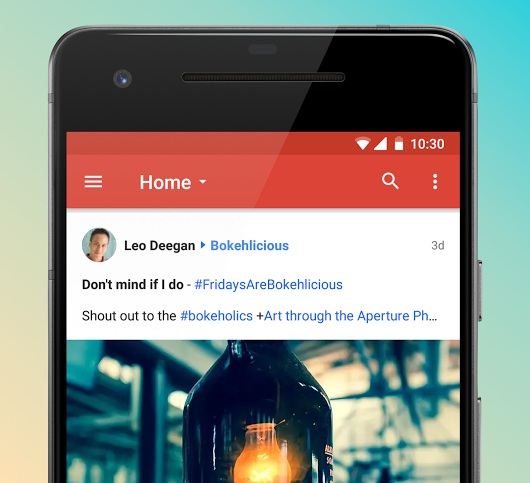 google+ new android