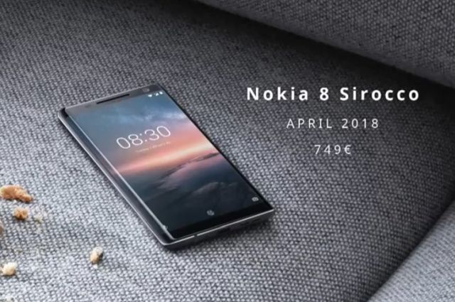 NOkia 8 Sirocco Pricing and availability
