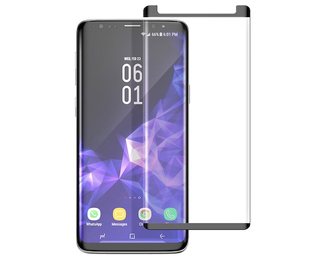 8. Galaxy S9 Plus Tempered Glass Screen Protector From Encased