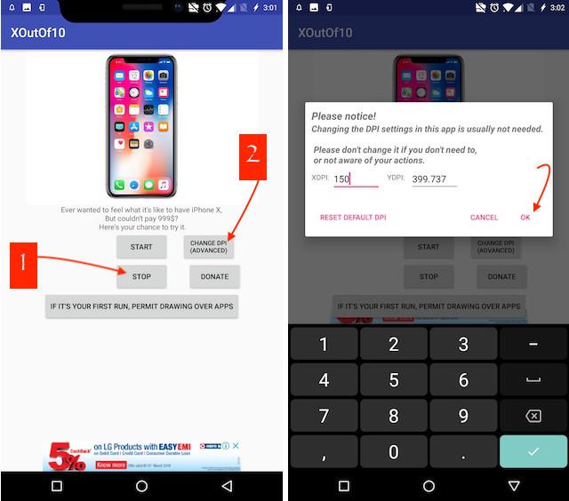 8. Get Android P Notch Emulator 2