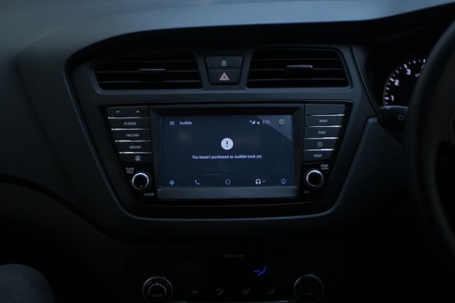 Audbile Android Auto