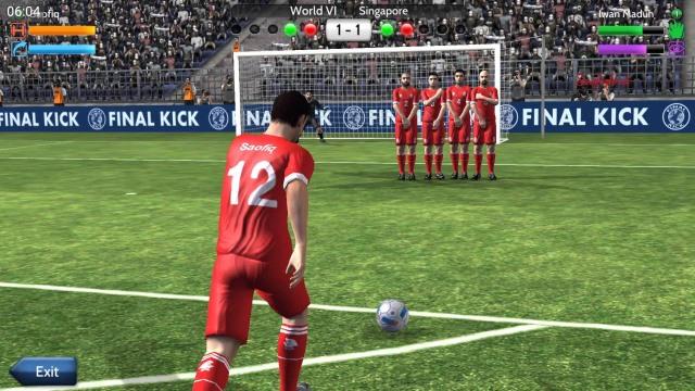 Final kick Online football