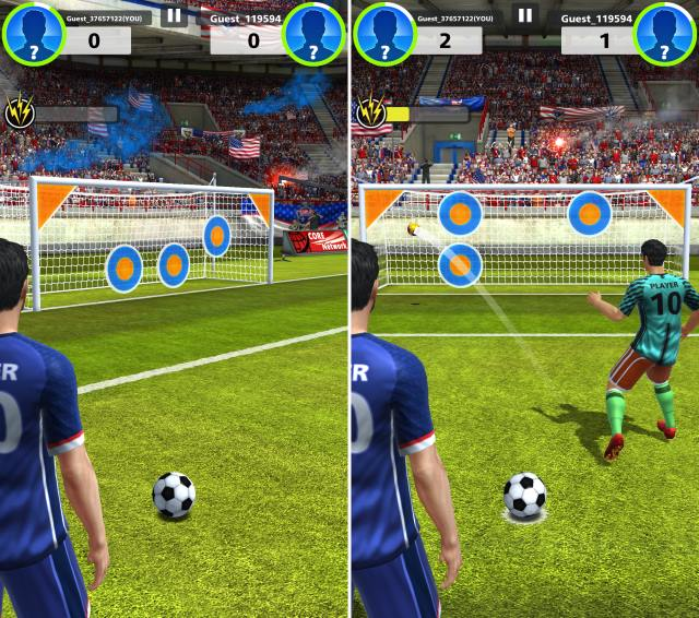 15 Best Football Games for Android You Should Play  2018    Beebom One of the best single handed football games out there  Football Strike is  a game loved by millions of Android users out there  Also the Editor s  Choice on