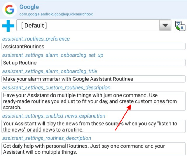 google assistant custom routines