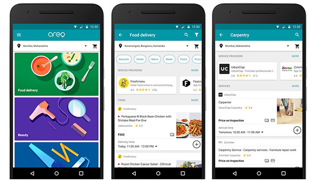Google's Hyperlocal Delivery App Areo Now Available to Pune Users