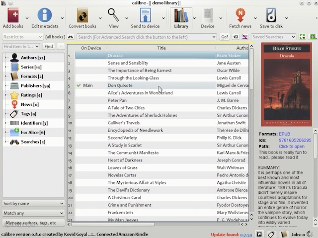 APPLICATION TO OPEN EPUB FORMAT EBOOK