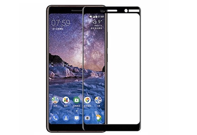 1. Nokia 7 Plus FULL Curved Screen Protector by Clorox