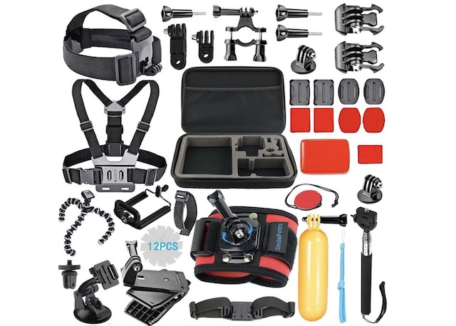 1. SmilePowo 42-in-1 Accessory Kit for GoPro Fusion