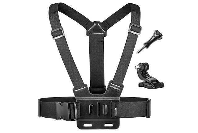 11. Luxebell Chest Mount Harness Strap for GoPro Fusion