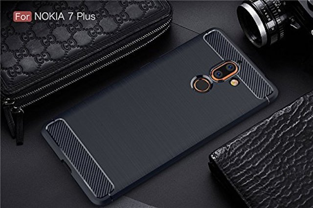 4. Clorox Plain Black Case For Nokia 7 Plus