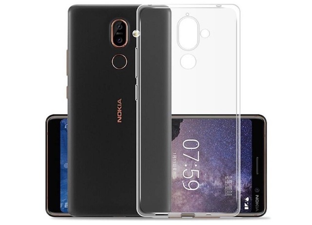 8. Mitzvah Silicone Transparent Back Cover For Nokia 7 Plus
