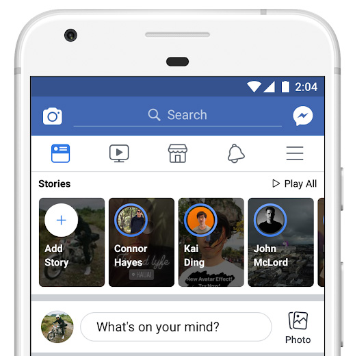 Facebook Stories Changes