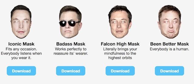 elon masks