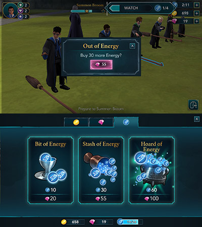 Image result for harry potter hogwarts mystery energy