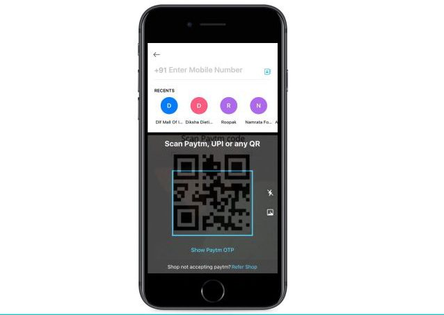Improved QR Code scanning