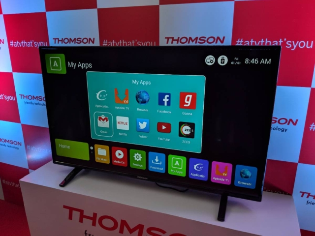 Thomson's new TVs are compatible with Android Apps