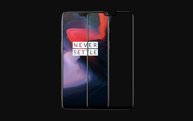 4. OnePlus 6 3D Tempered Glass Screen Protector