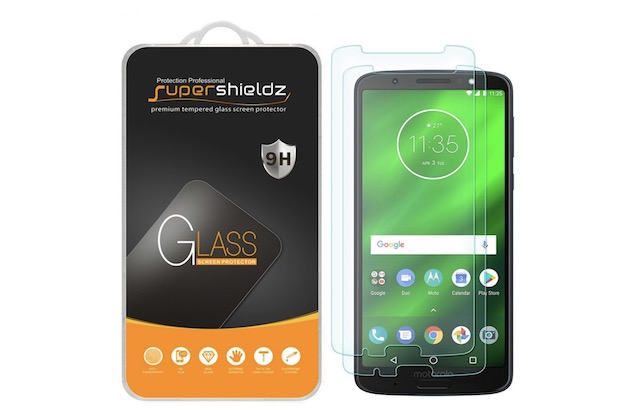 4. Supershieldz Screen Protector for Moto G6 Plus