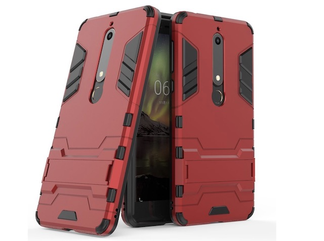 6. MAIKEZI Dual Layer Armor Case for Nokia 6.1