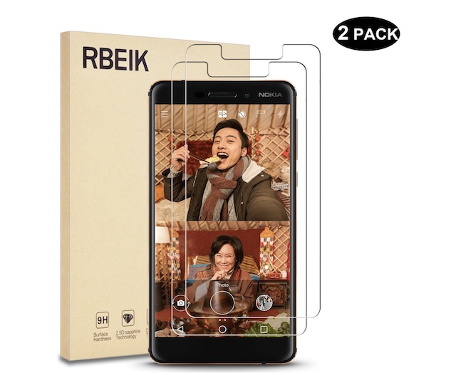 8. RBEIK 9H Hardness Tempered Glass for Nokia 6.1