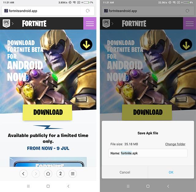 Fortnite scam youtube ad 1