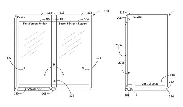 Microsoft Patent Foldable Smartphone