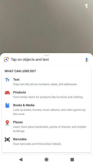 google lens new prompt