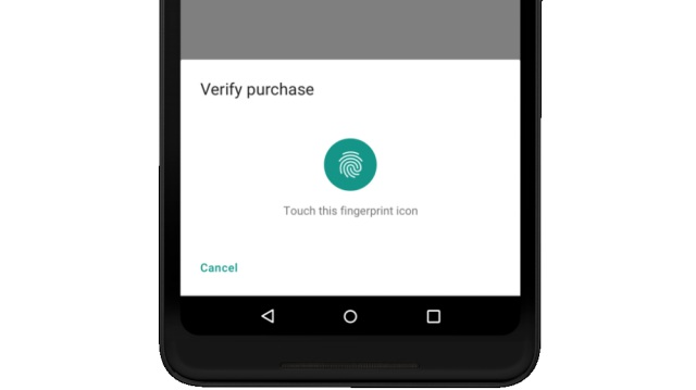 biometric auth android p