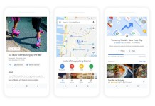 google maps featured new