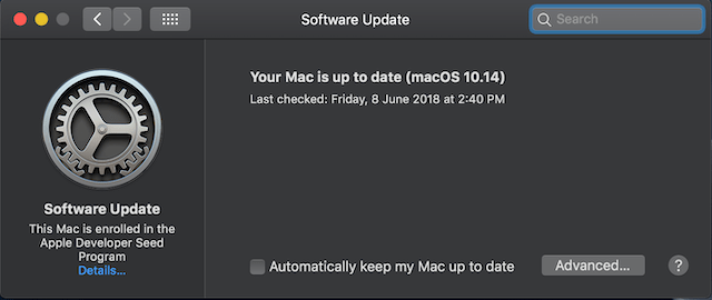 How to Check for Software Updates in macOS Mojave 3