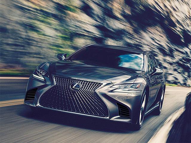 Lexus LS 500h Electric Cars
