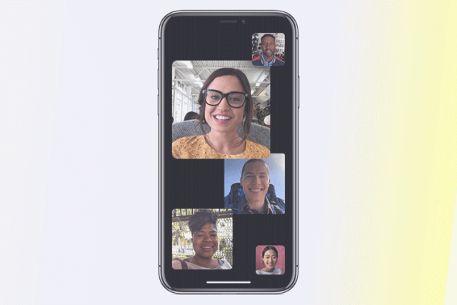 Group FaceTime on iOS 12