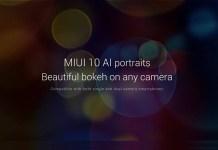 miui 10 ai portraits featured