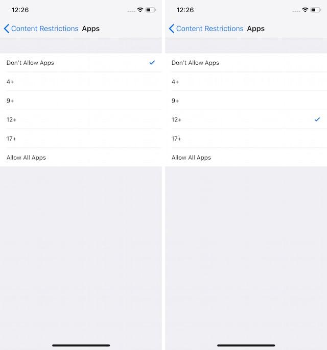 So verstecken Sie Apps auf dem iPhone X 600001