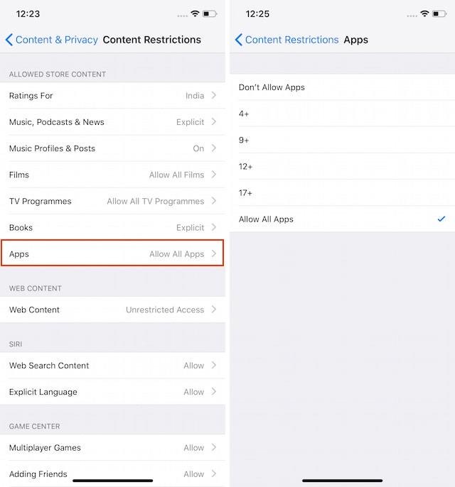 So verstecken Sie Apps auf dem iPhone X 600002