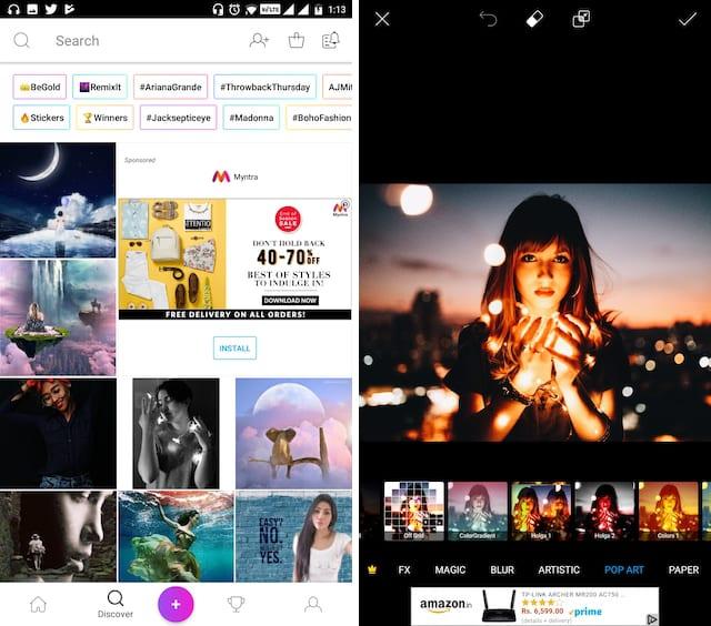 4. PicsArt Photo Studio