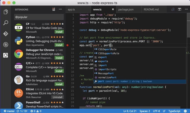 7. Visual Studio Code