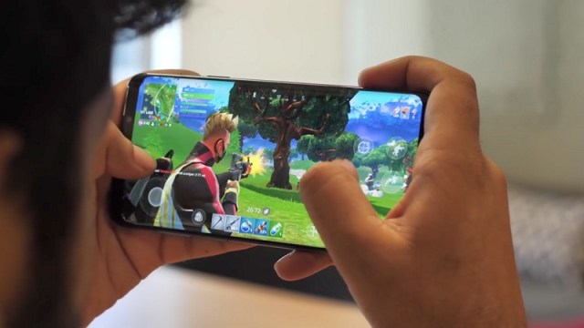Fortnite android gameplay