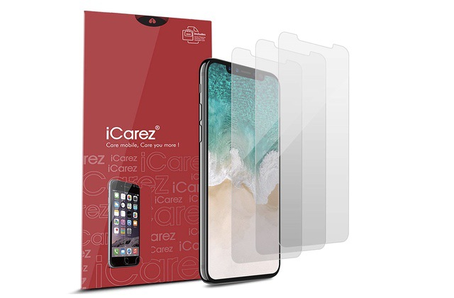 9. Carez Anti Glare Screen Protector for iPhone Xs