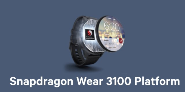 wear os snapdragon wear 3100
