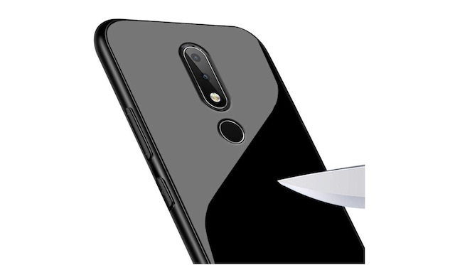7. Annure Toughened Glass Back Case for OnePlus 6T