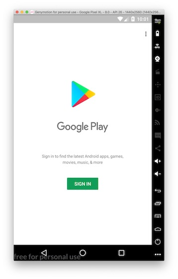 PLay Store working