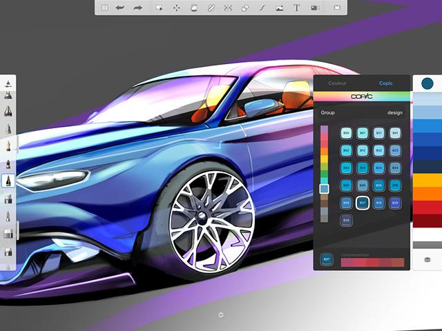 Autodesk SketchBook - лучшие приложения для карандашей Apple