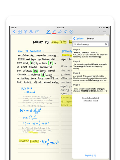 GoodNotes 4 - лучшие приложения Apple Pencil