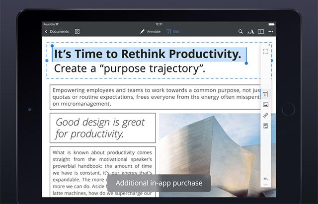 PDF Expert - лучшие приложения Apple Pencil