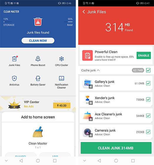 Лучшие приложения для очистки и усиления для Android