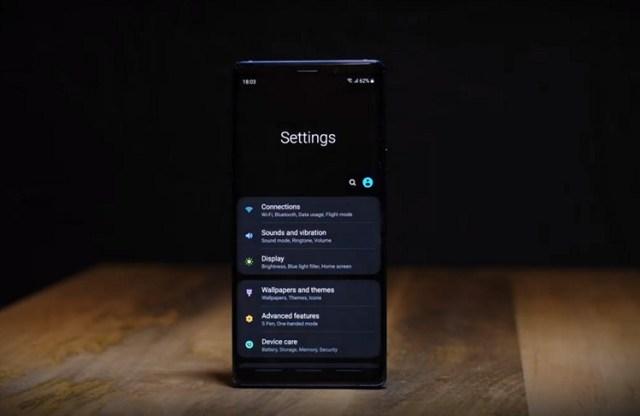 Cómo instalar una interfaz de usuario en Galaxy Note 9, S9 y S9 Plus